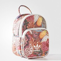 "Hot Sale ""Adidas"" Stylish Floral Leaf Bag Zipper Shoulder Bag School Bag Backpack I-A30-XBSJ"
