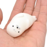 Fun Novelty Antistress Ball Toy Cute Seals Emotion Vent Ball Resin Relax Doll Adult Stress Relieve Novelty Toys Gift.