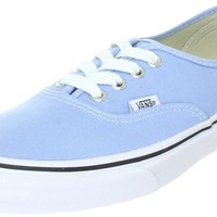 Vans Unisex Authentic Blue Bell/ True White Sneakers. (4.0 D(M) Men- 5.5 B(M) Women.)