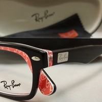 RayBan 5206 with Prescription Lenses w Transitions and/or Anti Glare