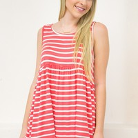 Candy Striped Top