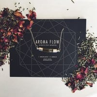 AromaFlow Necklace + Replenish Kit // FREESHIPPING