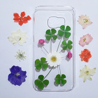 pressed flower note 4 case, Clear Samsung Galaxy note 3 Case, Samsung Galaxy note 4 Case , Galaxy note 5 flower, floral samsung galaxy case