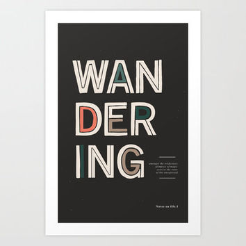 The Unexpected Art Print by Kavan & Co