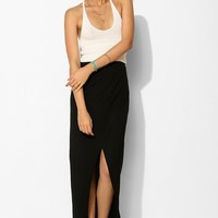 Sparkle & Fade Knit Crossover Maxi Skirt - Urban Outfitters