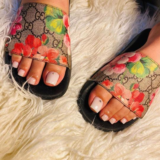 Image of Gucci Casual Fashion Women Floral Print Sandal Slipper Shoes