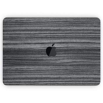 """Dark Ebony Woodgrain - Skin Decal Wrap Kit Compatible with the Apple MacBook Pro, Pro with Touch Bar or Air (11"""", 12"""", 13"""", 15"""" & 16"""" - All Versions Available)"""