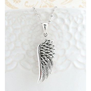 Splendid Angel Wing Pendant