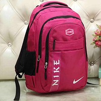 Perfect Nike Women Leather Bookbag Shoulder Bag Handbag Backpack