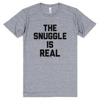 The Snuggle is Real Pop T-Shirt