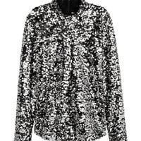 Sequined Top - from H&M