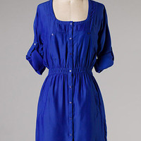 Thoughtful Thursday Dress: Cobalt [79-MFW13-005] - $48.99 : Spotted Moth, Chic and sweet clothing and accessories for women