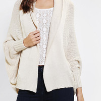 Urban Outfitters - Lucca Couture Dolman Open-Front Cardigan
