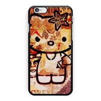 Obey Hello Kitty Design Love Cute iPhone 6 Case
