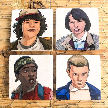Stranger Things  - SET OF 4 COASTERS
