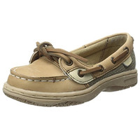 Sperry Angelfish Contrast Trim Leather Boat Shoes
