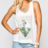 Element Bumble Womens Tank White  In Sizes
