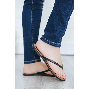 Day Or Night Sandals - Black