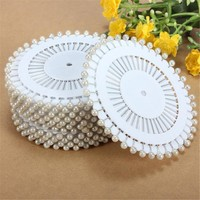 Hot Sale 480Pcs White Round Head Dressmaking Pearl Decorating Sewing Pin Craft For Home Garden DIY Crafts Tool Accessories