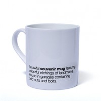 Awful Souvenir Mug - Brighton POD - Promoting Original Design