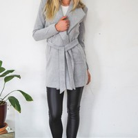 Stella Coat Grey - Outerwear - Clothes