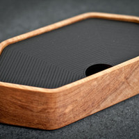 OFFSET wooden box- hexagonal shape