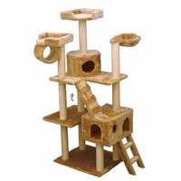 Majestic 73 Inch Casita Cat Tree