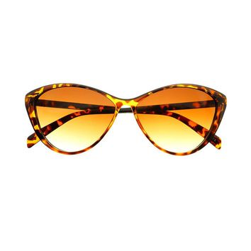 Cute Womens Retro Fashion Cat Eye Sunglasses Shades C1740