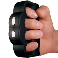 PS Products Knuckle Blaster is a 950,000V Stun Gun with Batteries & Magnetic Leather Holster