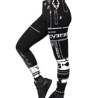 GIRLS NEO FUTURE LEGGINGS