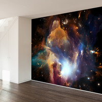 In The Dawn of the Cosmos Wall Mural Decal