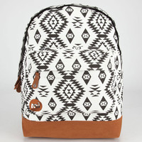 Mi-Pac Native Backpack Black/White One Size For Men 23931212501