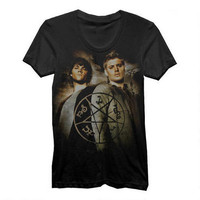 Supernatural Winchester Brothers and Symbol Black Women