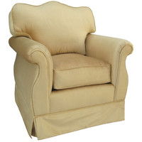 Angel Song 201721176Foam Aspen Taupe Adult Empire Rocker Glider