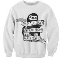 Lazy Sloth Sweater