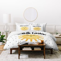 Elisabeth Fredriksson Hello There Duvet Cover