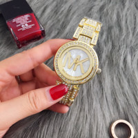Stylish Rhinestones MK Watch