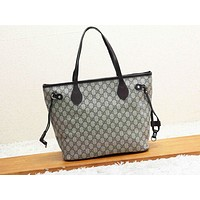 GUCCI hot seller casual lady shopping bag fashion printed patchwork two-piece shoulder bag #4