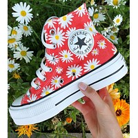 Converse Chuck Taylor camp daisies platform from Sneaker