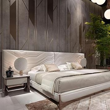 Simple Gorgeous Trendy Wooden Bed