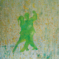 Forever Dance'  Original Oil Painting Print on Canvas, Wedding Gift for the Couple, Anniversary Gift, Engagement Gift