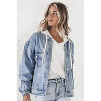 Boss Up Oversized Denim Jacket