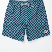 Vans Sloat Decksider Volley Shorts - Mens Shorts - Blue