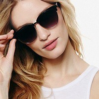 Mascara Sunglasses at Free People Clothing Boutique