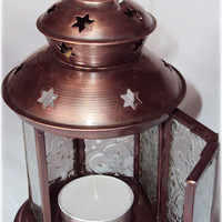 Six Point Star - Candle Holder
