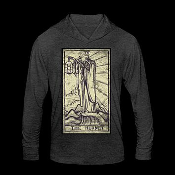 The Hermit Unisex Tri-Blend Hoodie Shirt