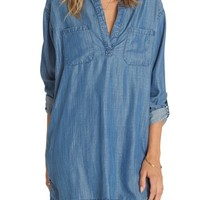 Billabong Wandering Blues Chambray Shirtdress | Nordstrom