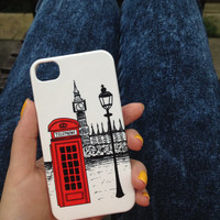 London Calling Clip on Phone Case iPhone 3 3GS 4 4S 5 5S 5C Samsung Galaxy S2 S3 S4 Mini S5 Sony Xperia Z Blackberry Z10 Curve Bold HTC