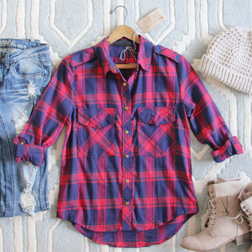 The Everyday Plaid Top in Tartan