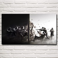 Rainbow Six: Siege Special Forces Police PC Game Art Silk Poster Decor Painting 11x20 16x29 20x36 24x43 30x54 Inch Free Shipping